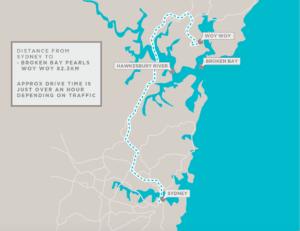 Pearls Australia location