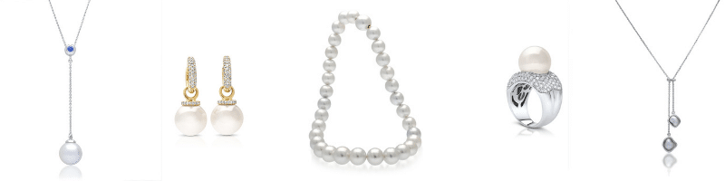 pearls of australia jewellery selection