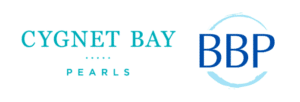 Cygnet Bay Pearls and Broken Bay Pearl farm logos