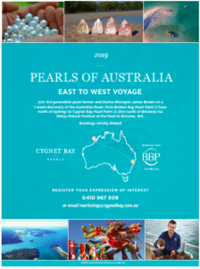 Pearls of Australia East to West Flyer