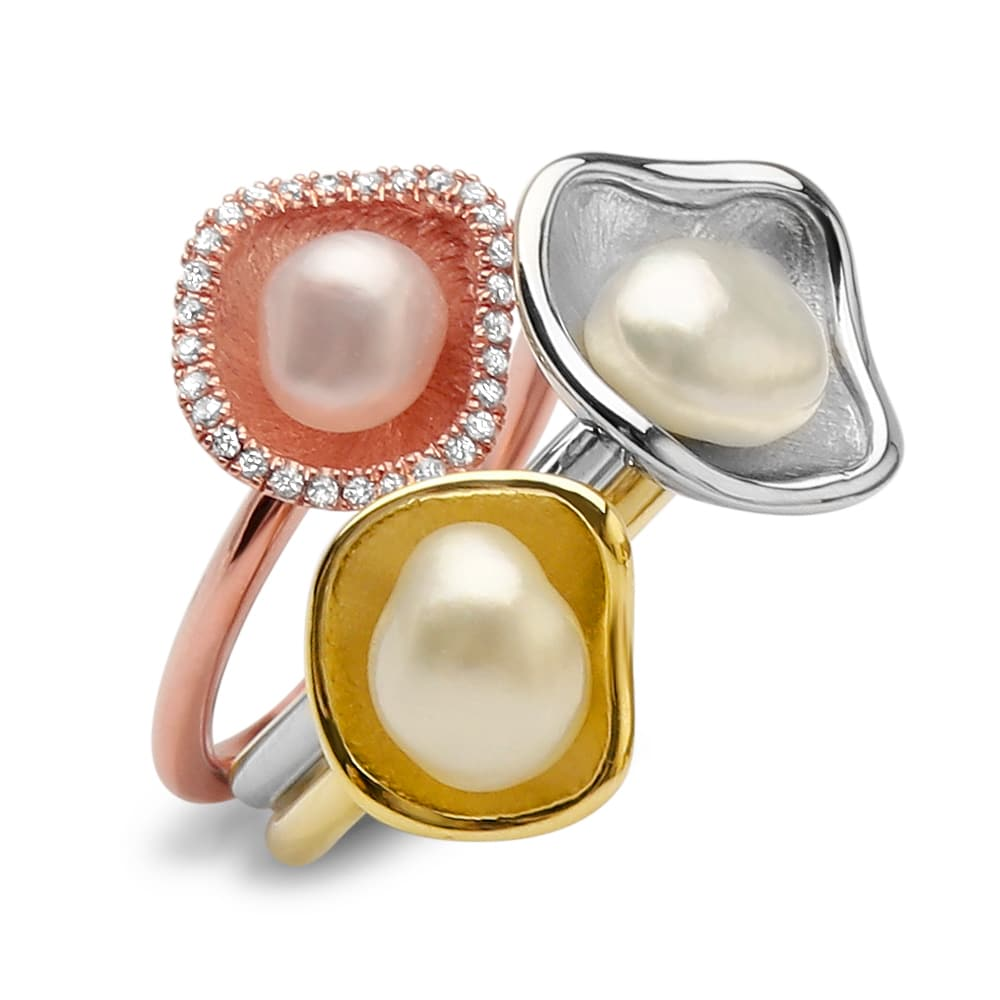 pearls south sea kesh ring