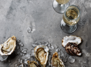 Australian Pearl Oysters and Sparkling Wine