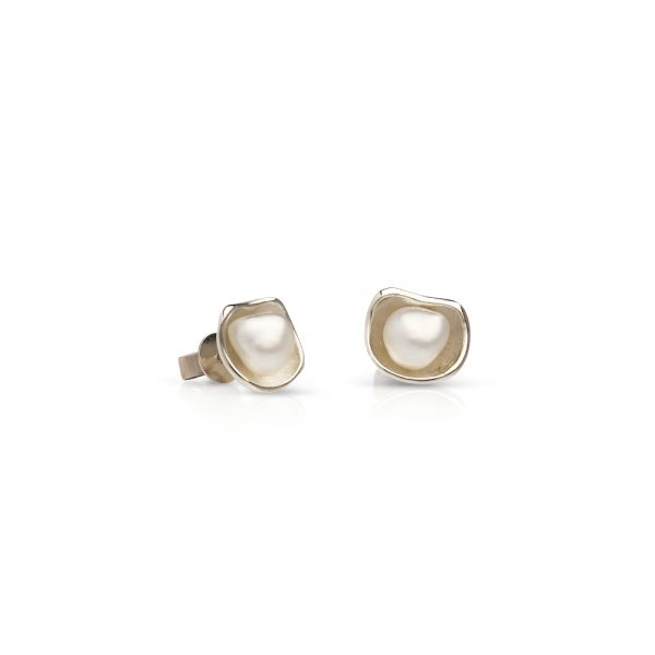 South Sea Keshi Pearl Studs