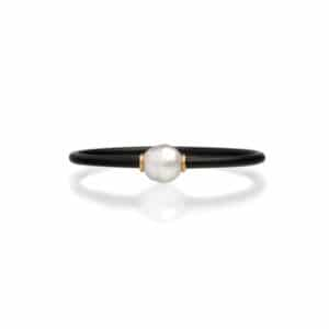 South Sea Pearl Neoprene Bracelet