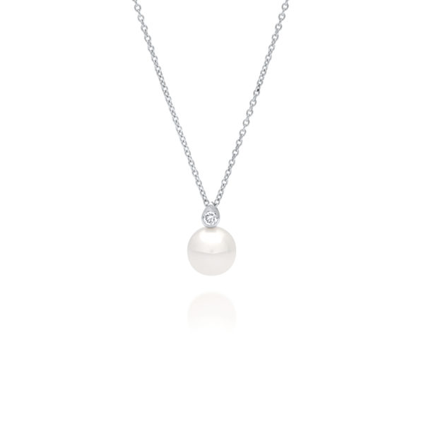 South Sea Pearl Diamond Simplicity Pendant