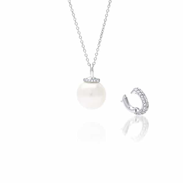 South Sea Pearl Stella Diamond Pendant