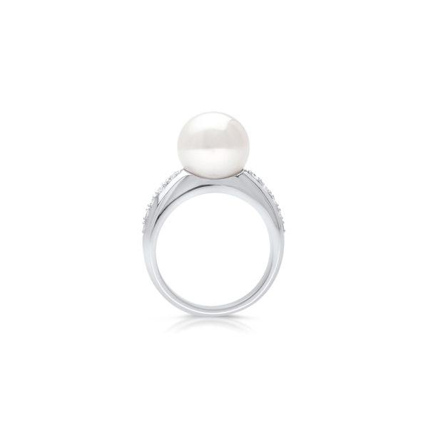 South Sea Pearl Mojo Diamond Ring