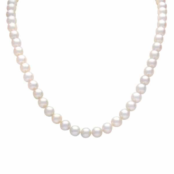 akoya white pearl strand