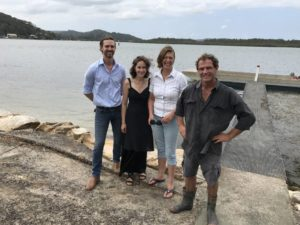 The pearling team behind Broken Bay Pearls