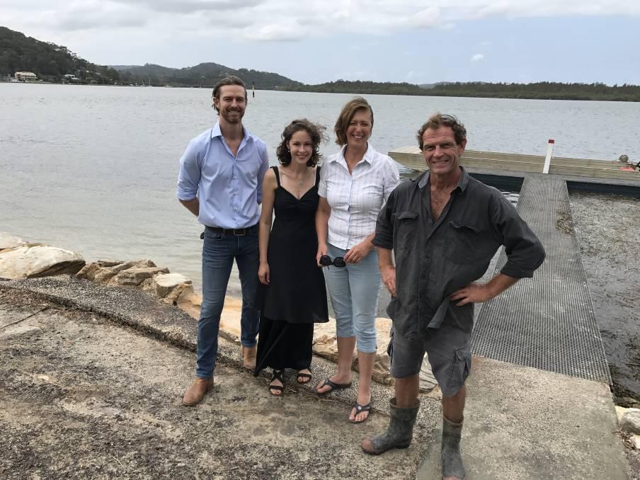 The pearling team behind Broken Bay Pearls